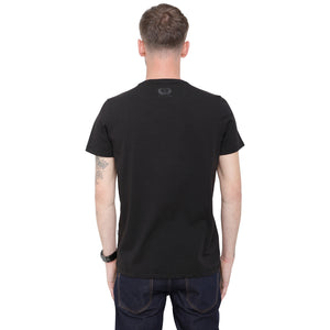 Style: Qebi 92 Black Luxury Crew Neck T-Shirt - Junq Couture