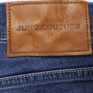 Style : Heri 108 Blue Distressed Jean - Junq Couture
