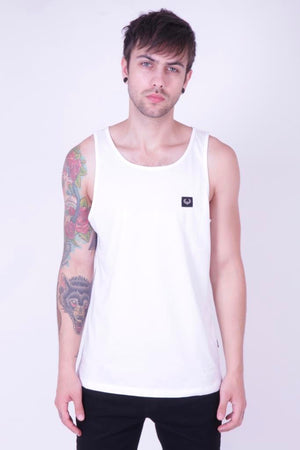 Style: Singho 001 White Luxury Cotton Vest - Junq Couture