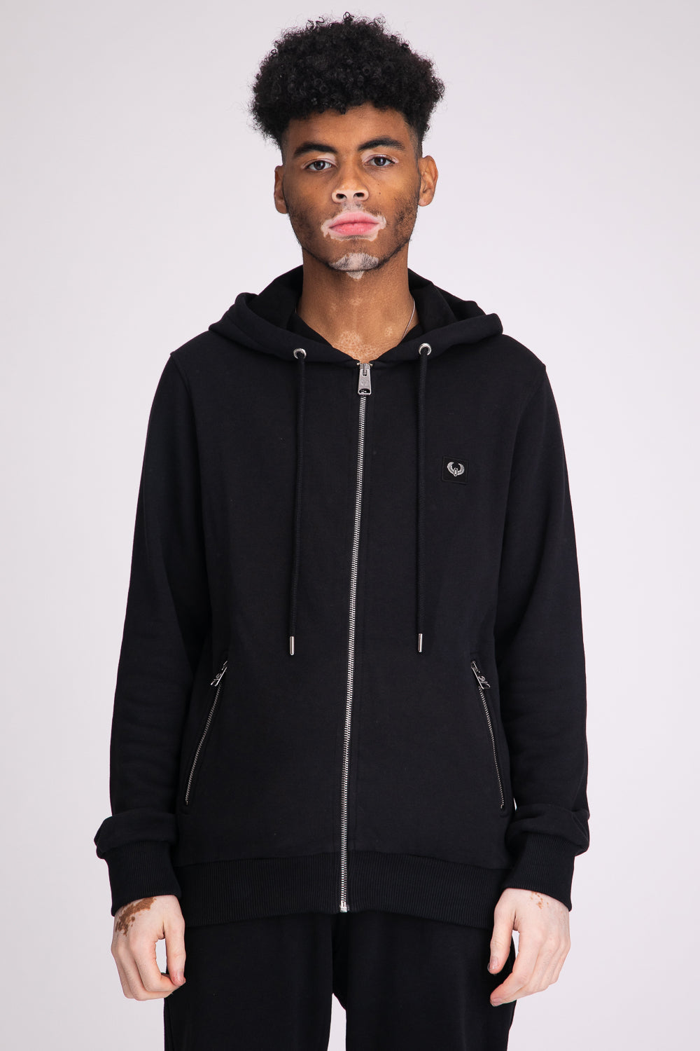 Style: Camden Basic Black Hoody - Junq Couture