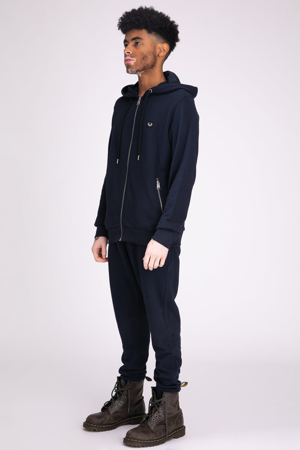 Style: Camden Basic Navy Hoody - Junq Couture