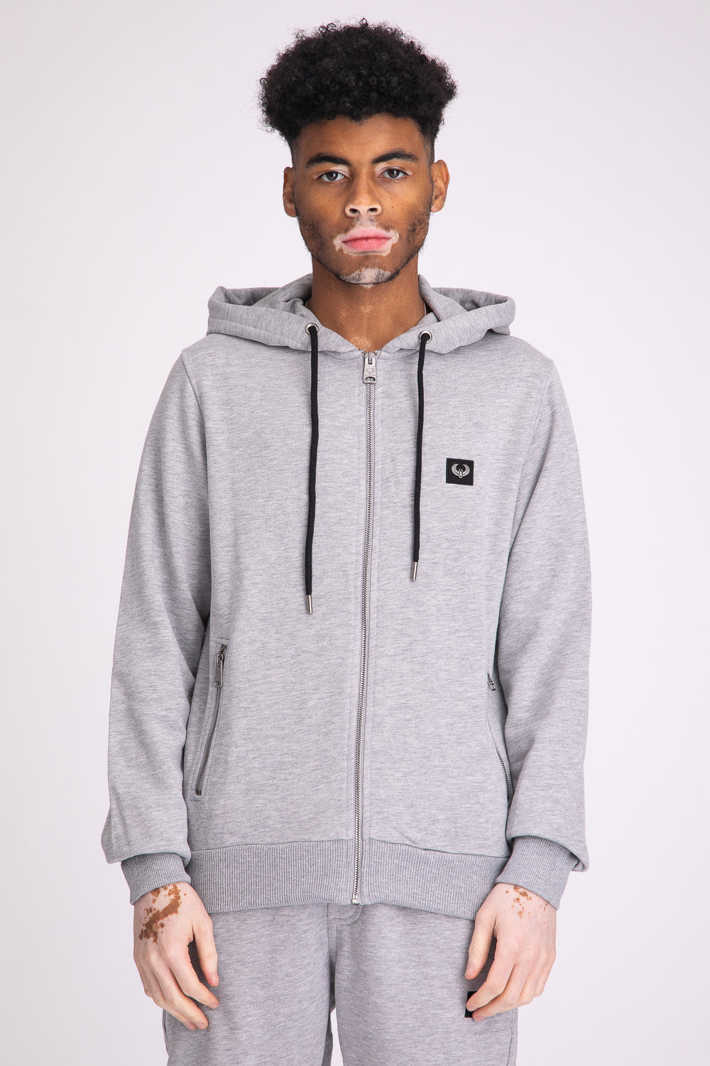 Style: Camden Basic Grey Hoody - Junq Couture