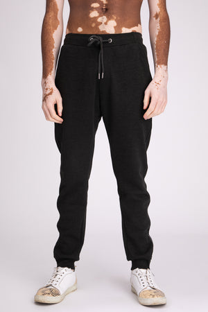 Style: Totten 05 Charcoal Jogger - Junq Couture