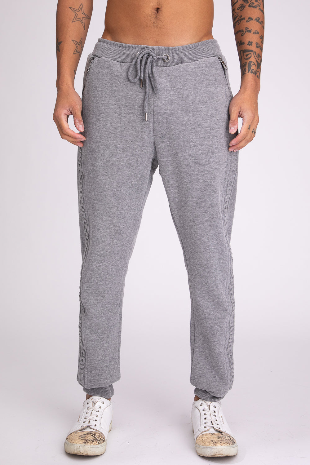 Style: Perivale 04 Grey Jogger - Junq Couture
