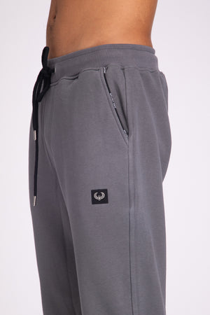 Style: Bricklane Basic Grey Jogger - Junq Couture
