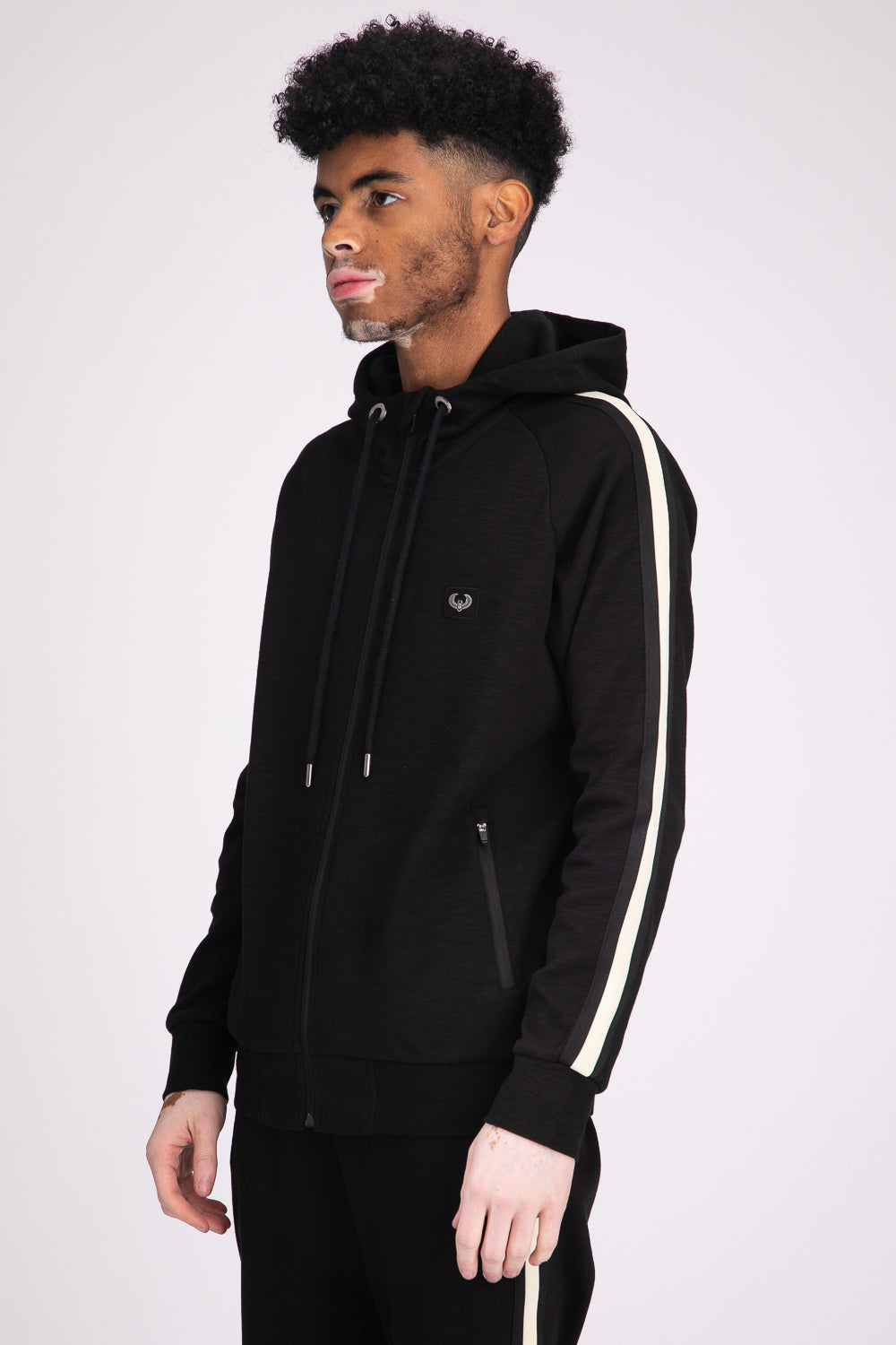 Style: Oxford Black Hoody - Junq Couture