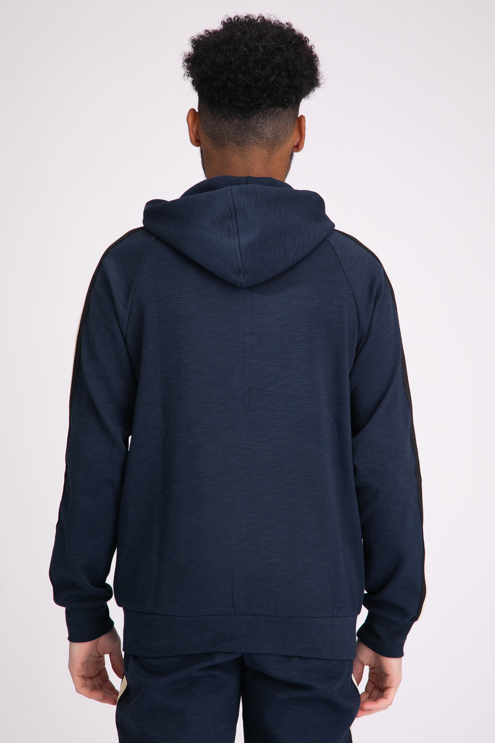 Style: Oxford Navy Hoody - Junq Couture