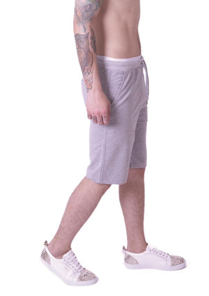 Style: Calli 0200 Short Grey - Junq Couture