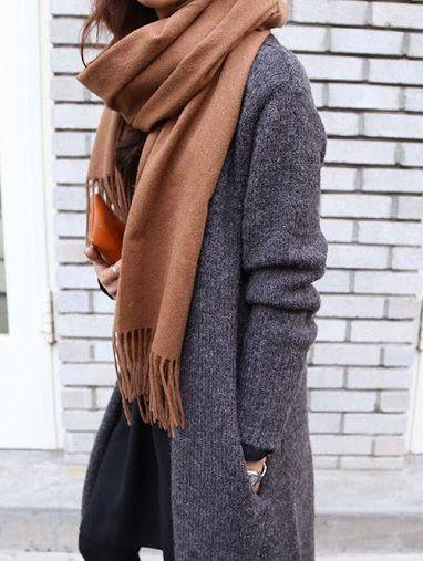 Minimal Fashion Scarf