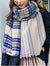 Check Plaid Long Scarf For Women