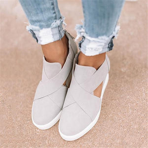 Hollow Out Wedge Sandals