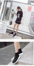 Stretch Fabric Elastic Boots Tube Winter Snow  Fashion Low-heeled Socks