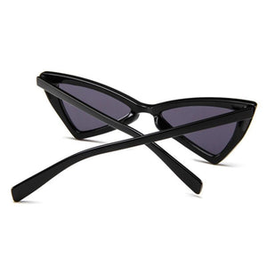 1990s Cat Eye Sunglasses Vintage Triangle Glasses