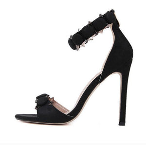 high heels women sandals  ankle strap pumps summer shoes