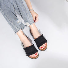 Summer Fashion Flat Slippers Casual Outside Beach Slides Women Shoes