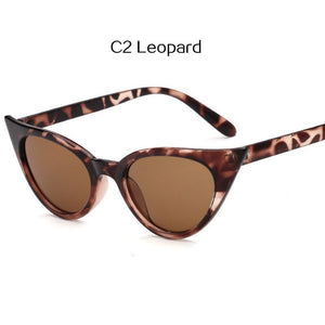Vintage 90s Cat Eye Sunglasses Women Retro Glasses