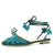 Summer Flat Sandals With Cross-tied Platform Leafs Vamp Flip Flops