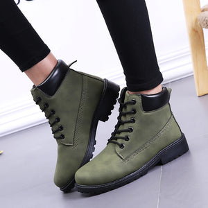 Winter Boots Women Shoes Martin Ankle Booties