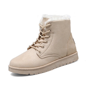 Ankle Boots For Women Casual Winter Snow Boot