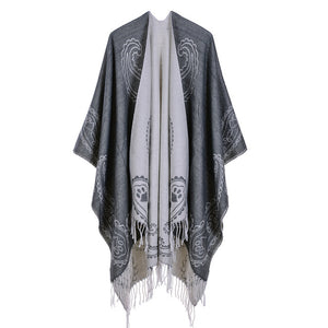 Women's Winter Cashmere Ponchos and Capes