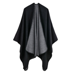 Winter Ponchos Warm Capes Fashion