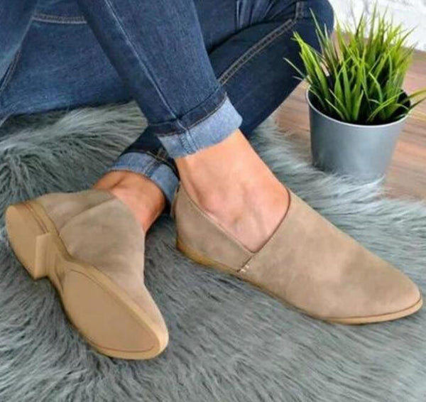 Women Shoes Spring Autumn Loafers Summer Flats Pointed Toe