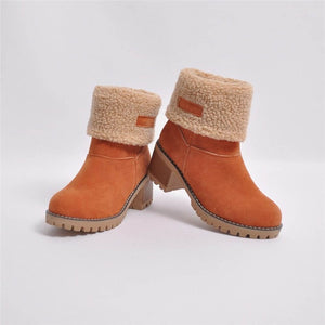 Women's Winter Snow Boots Shoes Casual Bootie