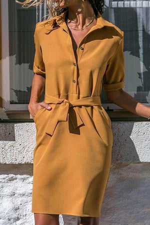 Sping Summer Casual Long Sleeve Sexy Women Dress