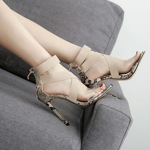 Summer Sandals Women Sexy High Heels Shoes