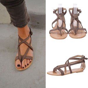 Flat Wedge Espadrille Rome Tie up Sandals Platform Summer Shoes