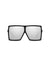 Laser Cut Metal Sunglasses Silver