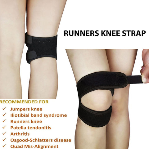 Adjustable Double Strap Knee Pain Relief And Stabilizer