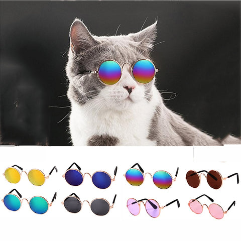 1PC Lovely Pet Cat Glasses