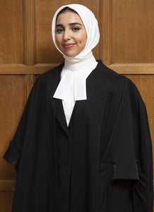 Court Hijab in White