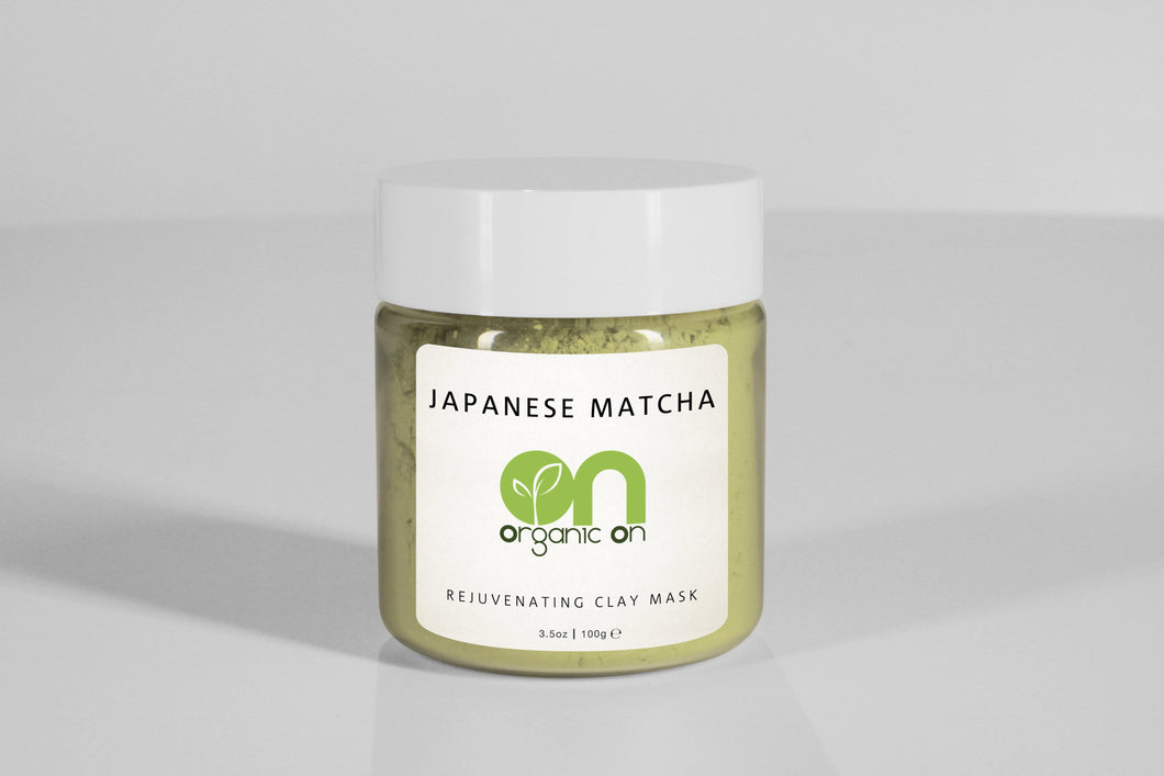 <strong>JAPANESE MATCHA</strong><br><h5>REJUVENATING CLAY MASK</h5> - Organic On Australia