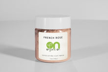 <strong>FRENCH ROSE</strong><br><h5>EXFOLIATING CLAY MASK</h5> - Organic On Australia