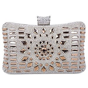 Crystal Evening Rhinestone Glitter Clutch Bag