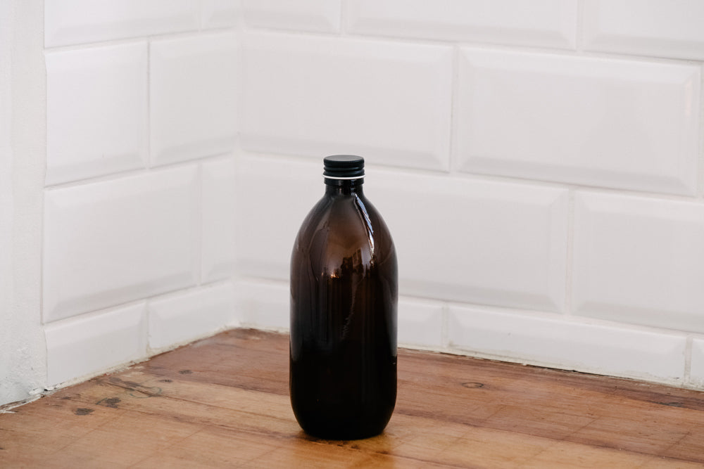 500ml Amber Bottle