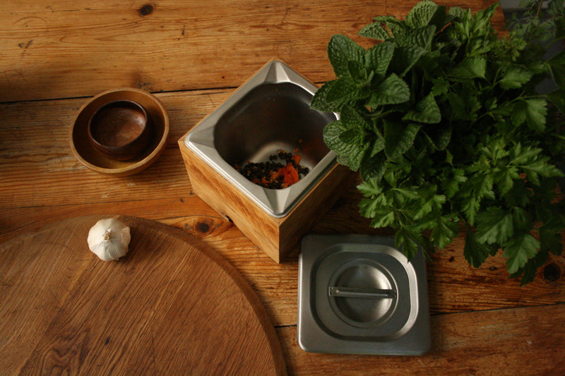 Poubelle de Table / Compost Crock