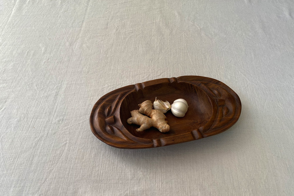 Wooden Mouth Bowl
