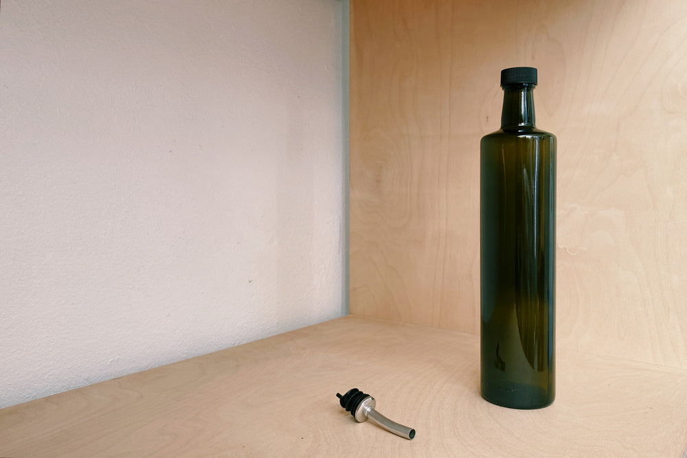 750ml Dark Olive Bottle