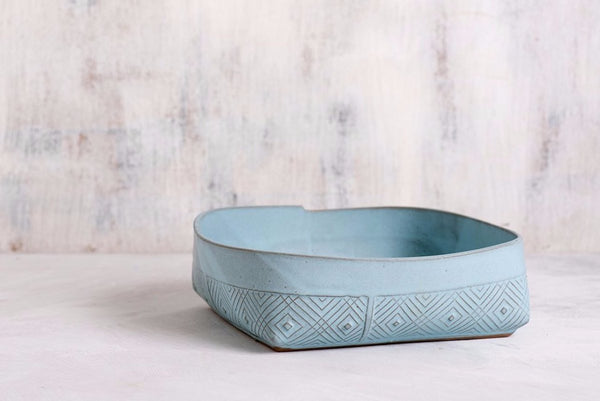 Mae Blue Salad Bowl