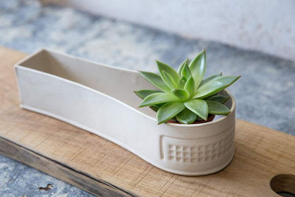Anouk white planter