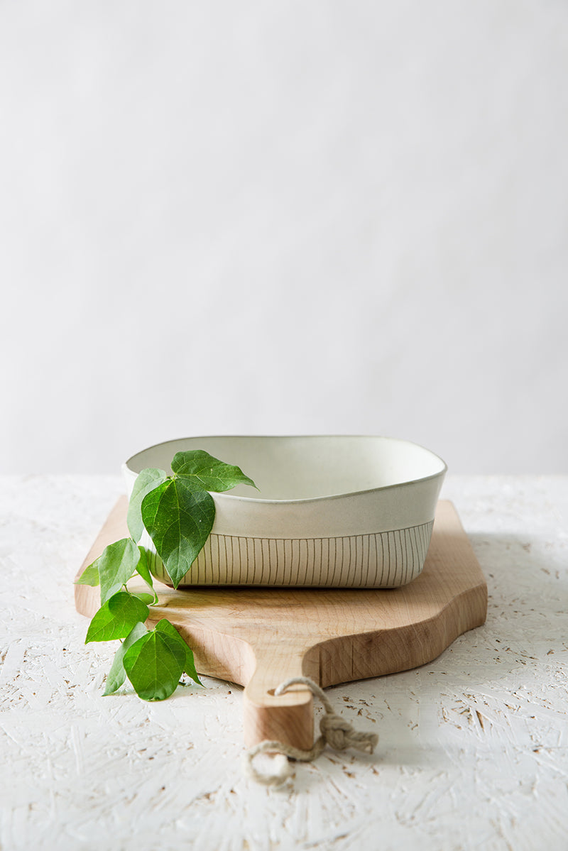 White Claude Bowl
