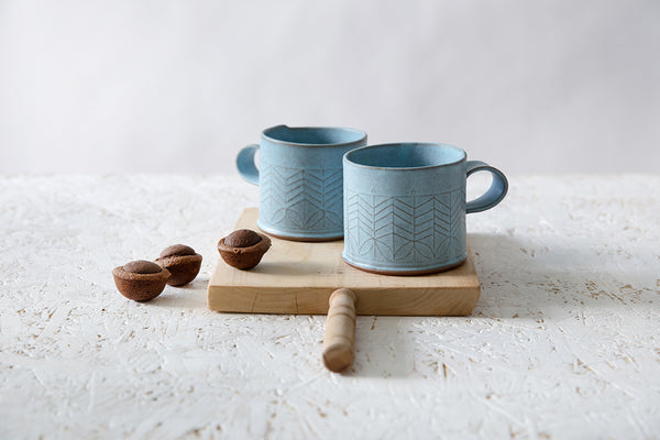 Marion Light blue mug