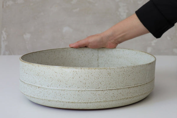 Françoise XL white  bowl