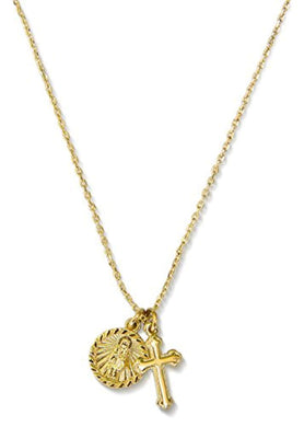 Saint Genevieve Medal Necklaces