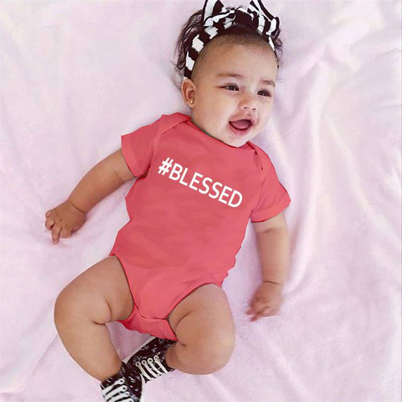 #BLESSED Baby Bodysuit - Be Living