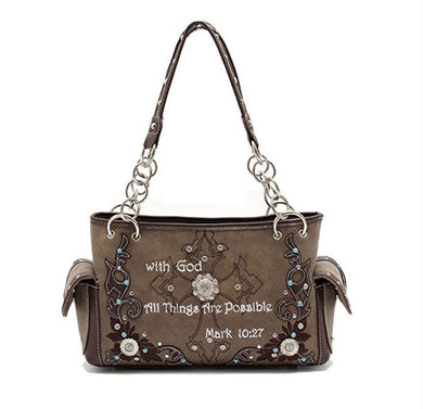 Bible Verse  Handbag - Be Living