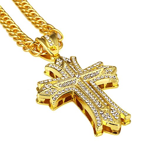 Exquisite Cross Necklace - Be Living